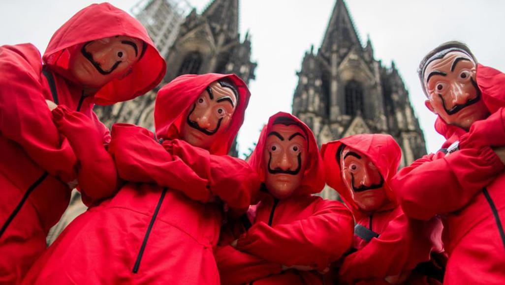"""أحداث مسلسل """"لاكازا دي بابل"""" (البروفيسور) تدور حول عصابة من اللصوص تحاول سرقة مدخرات البنك المركزي الإسباني (دويتشه فيلله)"""