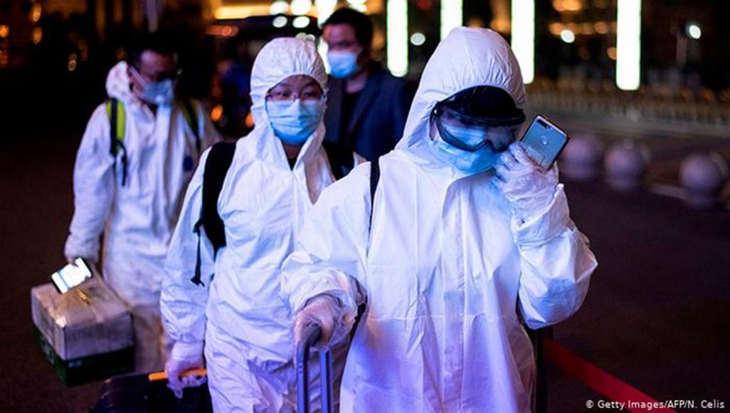 """فيروس كورونا المستجد أطلق  عليه اسم """"سارس كوف 2"""" (غيتي/دويتشه فيلله)"""