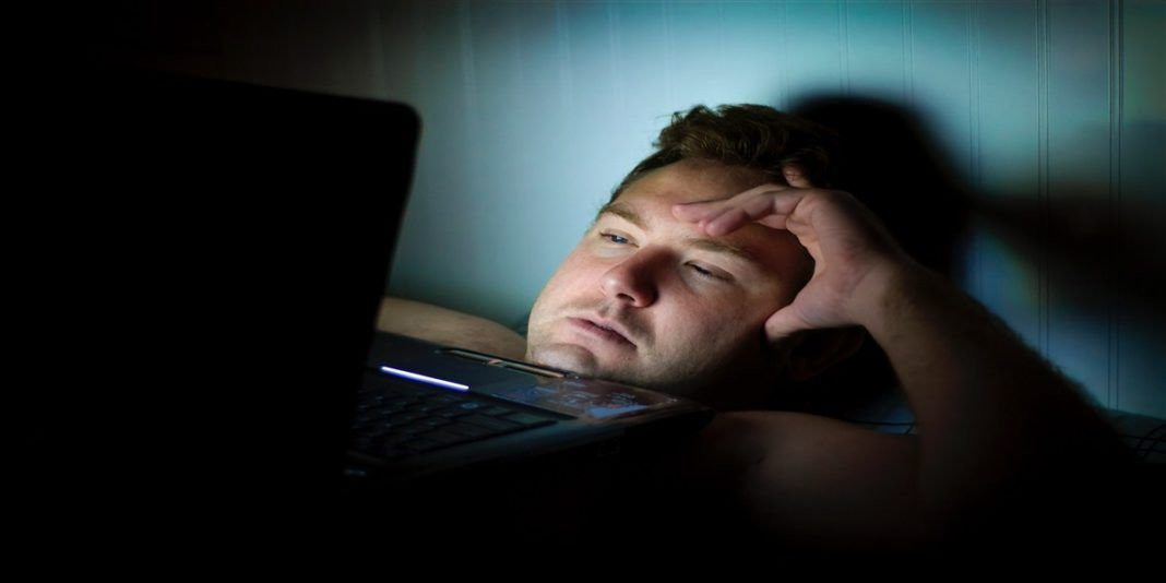 عادات النوم السيئة