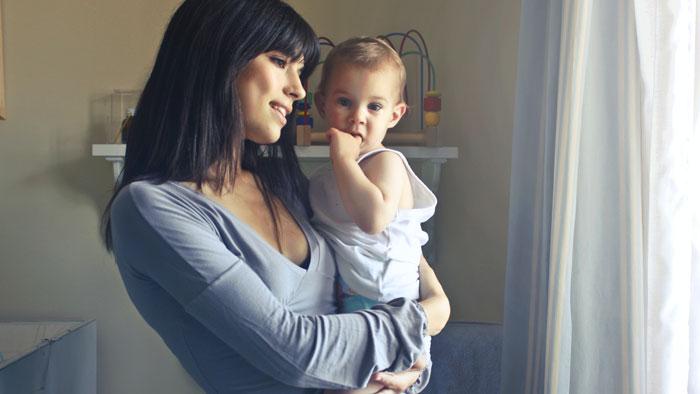 صورة علاج اكتئاب ما بعد الولادة