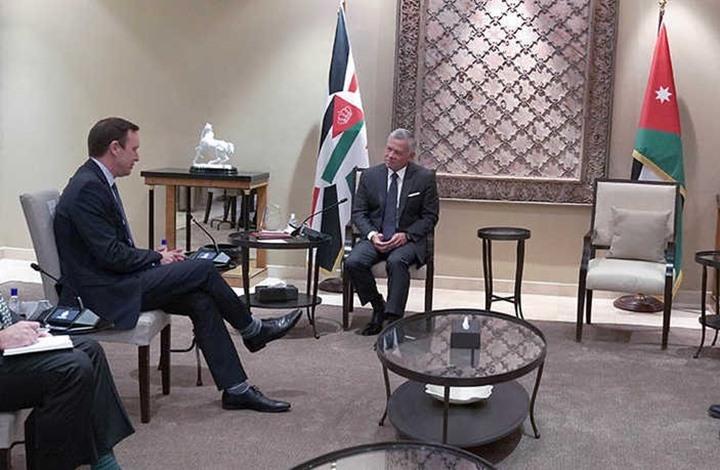 صورة وفد أمريكي رفيع يلتقي ملك الأردن ويبحث ملف المفاوضات