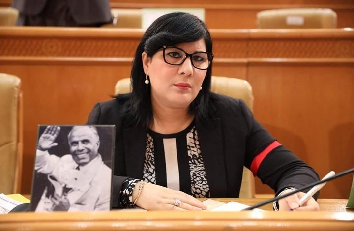 صورة موسي تثير جدلا ببرلمان تونس.. ظهرت بخوذة وسترة واقية