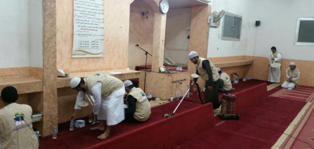 صورة مقال عن العناية بالمساجد